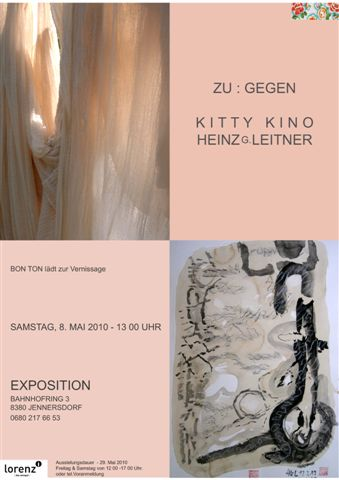 Kitty Kino – Heinz G. Leitner ZU:GEGEN – 8.5.2010 – Jennersdorf