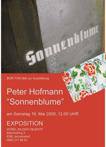 Peter Hofmann SONNENBLUME – 16.5.2009 – Jennersdorf