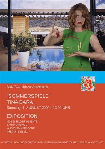 Tina Bara SOMMERSPIELE – 1.8.2009 – Jennersdorf