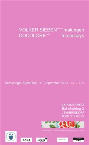 Cocolore + Volker Sieben – 11.11.2010 – Jennersdorf