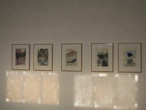 """Serie Zeichnungen """"DEAD DAD"""" 42×30"""