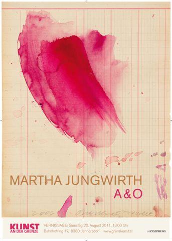 Martha Jungwirth A&O – 20.8.2011 – Kunst an der Grenze