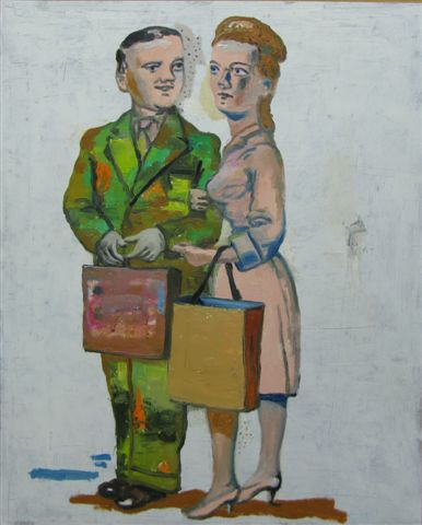 Stephanus Heidacker – Shopping couple